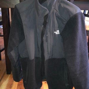 Women's black north face